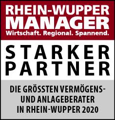 Siegel: STARKER PARTNER - Vermögens- und Anlageberater Rhein-Wupper