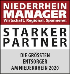 Siegel: STARKER PARTNER - Die größten Entsorger am Niederrhein