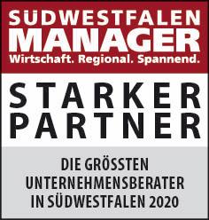 Siegel: STARKER PARTNER - Die größten Unternehmensberater in Südwestfalen
