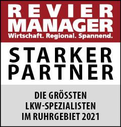 Siegel: STARKER PARTNER - Die größten Spezialisten für LKW-Service im Ruhrgebiet