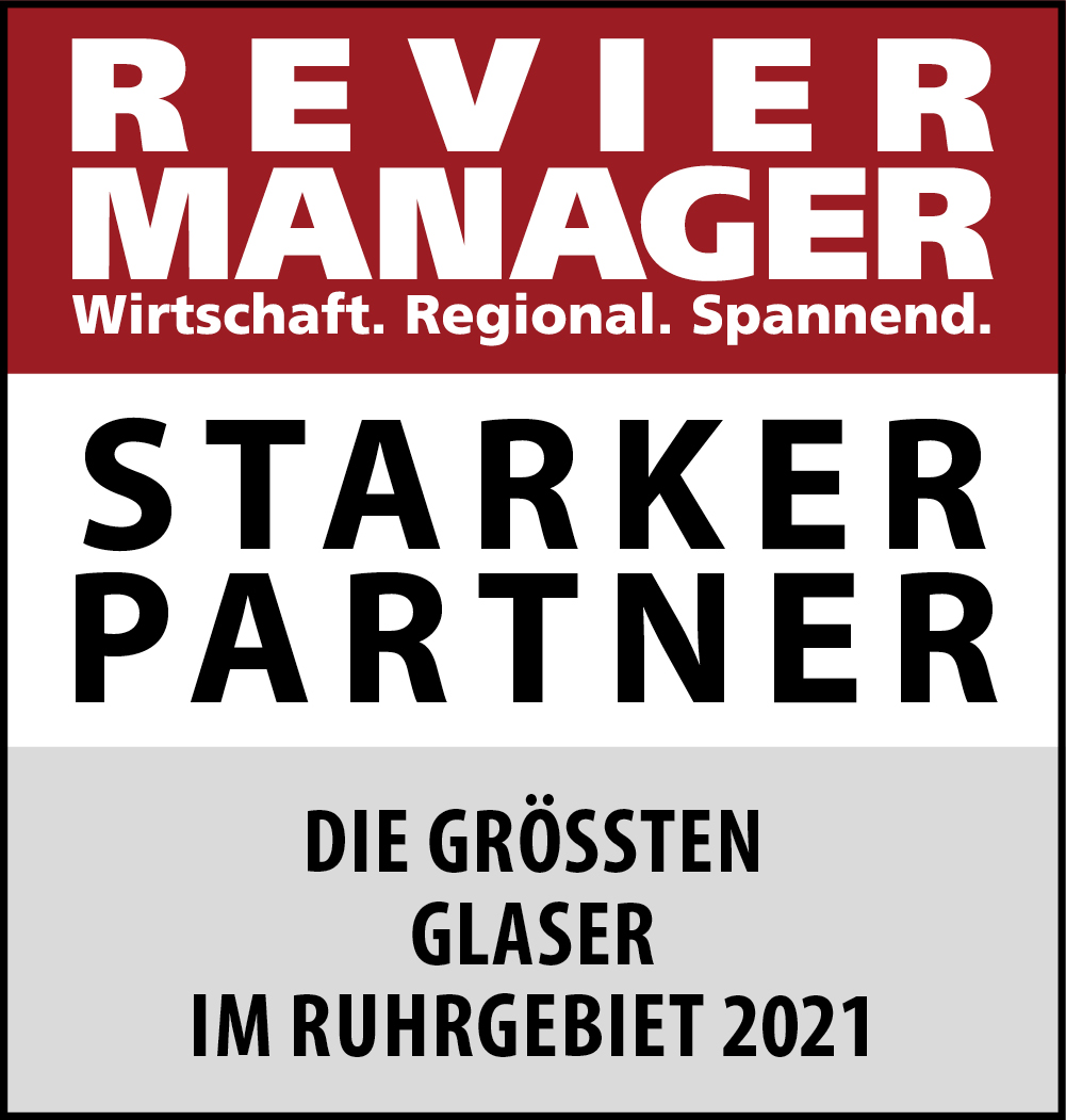 Siegel: STARKER PARTNER - Die größten Glaser im Ruhrgebiet