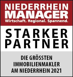 Siegel: STARKER PARTNER - Die größten Immobilienmakler am Niederrhein
