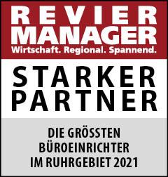 Siegel: STARKER PARTNER - Die größten Büroeinrichter im Ruhrgebiet