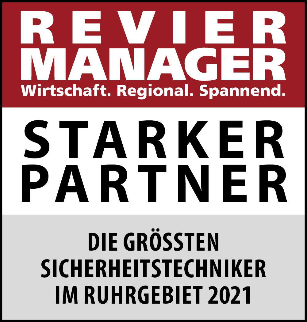Siegel: STARKER PARTNER - Die größten Sicherheitstechniker im Ruhrgebiet