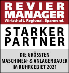 Siegel: STARKER PARTNER - Die größten Maschinen- und Anlagenbauer im Ruhrgebiet