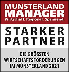 Siegel: STARKER PARTNER - Die größten Wirtschaftsförderungen in NRW