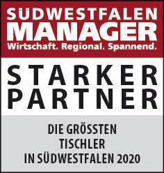 Siegel: STARKER PARTNER - Die größten Tischlereien in Südwestfalen