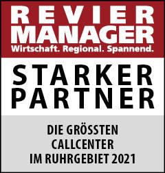 Siegel: STARKER PARTNER - Die größten Callcenter im Ruhrgebiet