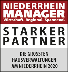 Siegel: STARKER PARTNER - Die größten Hausverwaltungen am Niederrhein