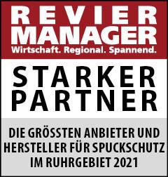 Siegel: STARKER PARTNER - Die größten Anbieter und Hersteller für Spuckschutz im Ruhrgebiet