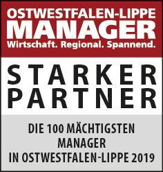 Siegel: STARKER PARTNER - Die Mächtigsten Manager in Ostwestfalen-Lippe